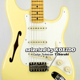Fender USA Eric Johnson Stratocaster Thinline VWH(selected by KOEIDO)店長厳選、命を持つ別格のEジョンソン・シンライン!フェンダー 光栄堂