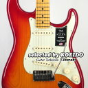 【New】Fender USA American Ultra Strato MN Plasma Red Burst(selected by KOEIDO)店長厳選!別格の最新ウルトラ!