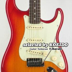 【New】Fender American Ultra Strato RW Plasma Red Burst(selected by KOEIDO)店長厳選!別格の最新ウルトラ!【オリジナルケアセットプレゼント!】フェンダー 光栄堂