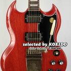 【New】GibsonSGStandard61MaestroVibrolaVintageCherry(selectedbyKOEIDO)店長厳選、別格の最新SGマエストロ!