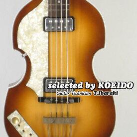Hofner 500/1 Vintage '62 Left Hand Warranty Playability Only(selected by KOEIDO)店長厳選62モデルHofnerの超お買得なWPO!へフナー・バイオリンベース