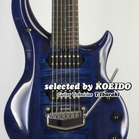 Musicman JP Majesty Monarchy7 Imperial Blue(selected by KOEIDO)店長厳選、命を持つマジェスティ、別格の7弦!