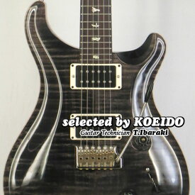 【New】Paul Reed Smith Custom24 Grey Black PR 2019(selected by KOEIDO)店長厳選!命を持つ別格のグレイブラック!