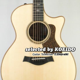 【New】Taylor USA 714ce V-Class(selected by KOEIDO)店長厳選、別格の命を持つVクラス714ce!