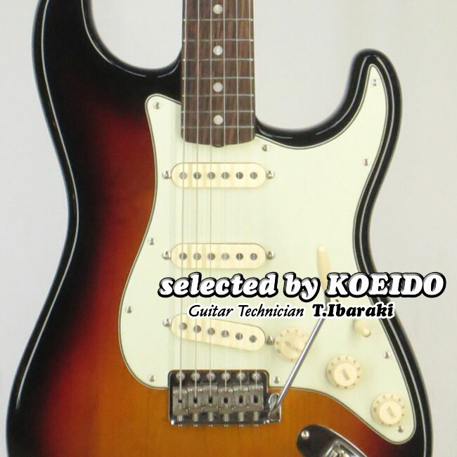 Fender USA American Original '60s Stratocaster 3TS(selected by KOEIDO)アメリカンオリジナル店長厳選ストラト!