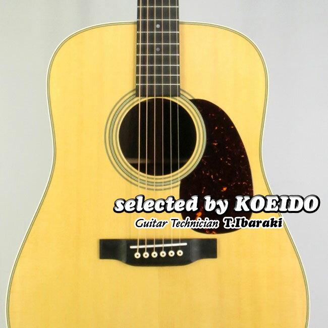【New】C.F.Martin D-28 Standard(selected by KOEIDO)店長厳選最新モデル!煌く生きた別格の一本!マーチン