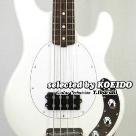Musicman StingRay WHT/R(selected by KOEIDO)店長厳選、別格の生きたスティングレイ!