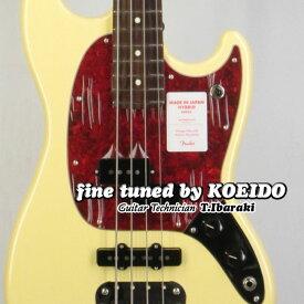 【New】Fender Made in Japan Hybrid Mustang Bass RW VWT(Fine Tuned by KOEIDO)【フェンダーストラップ&レビュー特典付き】