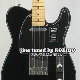 Fender MEXICO Player Telecaster BLK/M(Fine tuned by KOEIDO)【フェンダーストラッププレゼント&レビュー特典付き!】