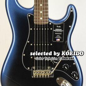 【New】Fender American Professional2 Stratocaster RW Dark Midnight(selected by KOEIDO)店長厳選、命を持つ別格の最新プロフェッショナル2!フェンダー 光栄堂