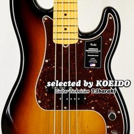 【New】Fender USA American Professional2 Precision Bass MN 3TSB(selected by KOEIDO)店長厳選!別格の生きた最新プレベ!フェンダー 光栄堂