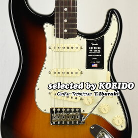 【New】Fender American Original '60s Stratocaster 3TSB(selected by KOEIDO)フェンダー 光栄堂