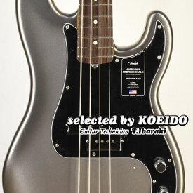 【New】Fender USA American Professional2 Precision Bass RW Mercury(selected by KOEIDO)店長厳選!別格の生きた最新プレベ!フェンダー 光栄堂