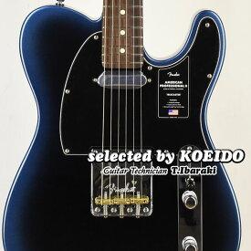 【New】Fender American Professional2 Telecaster RW Dark Night(selected by KOEIDO)店長厳選、命を持つ別格の最新プロフェッショナル2!フェンダー 光栄堂