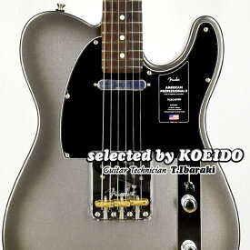 【New】Fender American Professional2 Telecaster RW Mercury(selected by KOEIDO)店長厳選、生きた別格のテレキャスター!フェンダー 光栄堂