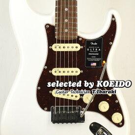 【New】Fender American Ultra Strato RW Arctic Pearl(selected by KOEIDO)店長厳選!別格の最新ウルトラ!フェンダー 光栄堂