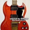 【New】Gibson SG Standard 61 Maestro Vibrola Vintage Cherry(selected by KOEIDO)店長厳選、別格の最新SGマエスト…
