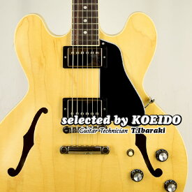 【New】Gibson ES-335 Satin Vintage Natural(selected by KOEIDO)店長厳選、実に久々の命を持つサテン335!