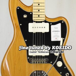 Fender Made in Japan Hybrid II Jazzmaster VNT/M(Fine Tuned by KOEIDO) フェンダー ジャズマスター 【フェンダーストラップ&レビュー特典付き】