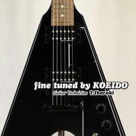 【New】Gibson Flying V B-2 Stain Ebony(Fine tuned by KOEIDO)【限定超特価!】