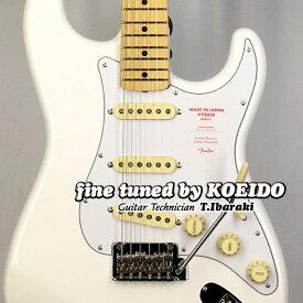 Fender Made in Japan Hybrid 68s Stratocaster MN AWH(Fine Tuned by KOEIDO)【フェンダーストラップ&レビュー特典付き】フェンダー 光栄堂