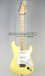 Fender Made In Japan Yngwie Malmsteen Strat ST-YJM(Fine Tuned by KOEIDO) エレキギター ストラト 【フェンダーストラップ、コンパクトギタースタンド&レビュー特典付き】【送料無料】