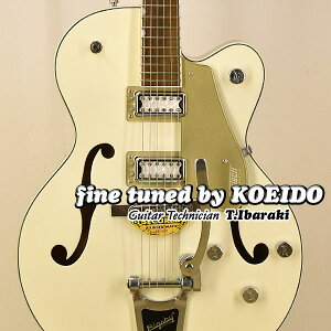 Gretsch G5410T Limited Edition Electromatic Tri-Five Hollow Body Single-Cut with Bigsby Vintage White/CASINO GOLD【クリップチューナープレゼント】【送料無料】