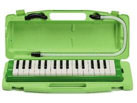 【かいめいシールプレゼント!】全音 ゼンオン ピアニー 323AH (本体・卓奏歌口・立奏歌口・ハードケースのセット)【鍵盤ハーモニカ】