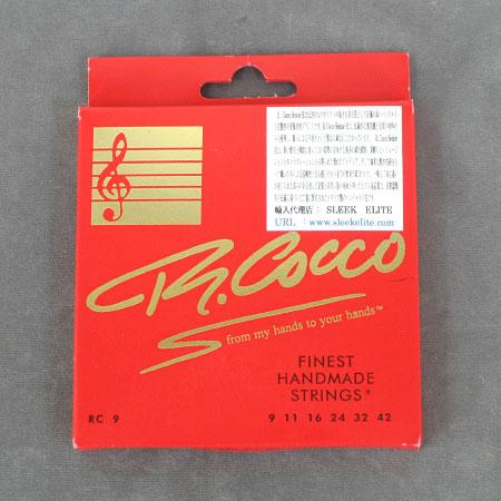 R.Cocco リチャード・ココ エレキギター弦【送料無料】【smtb-tk】