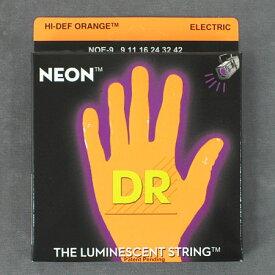 DR NEON Electric Guitar StringsNOE9 -NEON ORANGE-【送料無料】【smtb-tk】