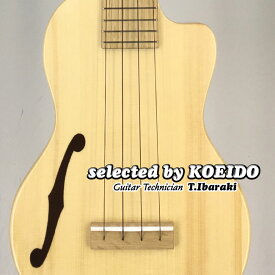 【New】Quiam Ezo's Ukulele Concert Through Neck Custom F(selected by KOEIDO)店長厳選最新Fホール・コンサート!クワイアン ウクレレ