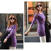 It is female office worker mom mother for 40 generations for 30 generations for white gray black mini-dress adult commuting office long shot length Bordeaux purple-red 20 generations in the fall and winter in the fall and winter plain tops Lady's t shirt