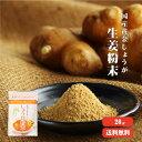 【ゆうパケット送料無料】高知県産黄金しょうが限定 しょうが粉末 20g |生姜 高知県産 国産 しょうがパウダー 乾燥…