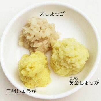 生姜の色比較