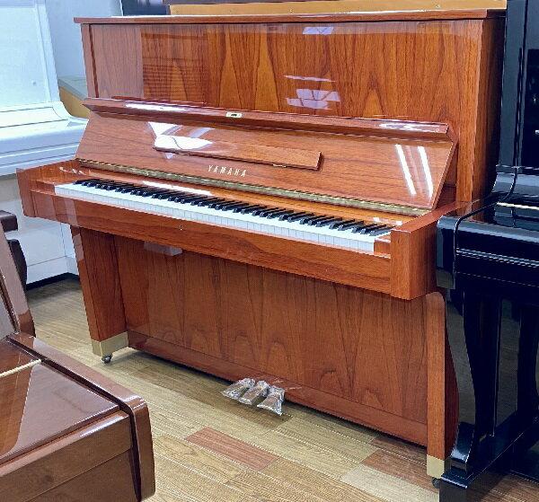【中古再調整品アップライトピアノ】ヤマハ W104<消音機能付>
