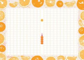 あたぼう 飾り原稿用紙 蜜柑網 GK-0012