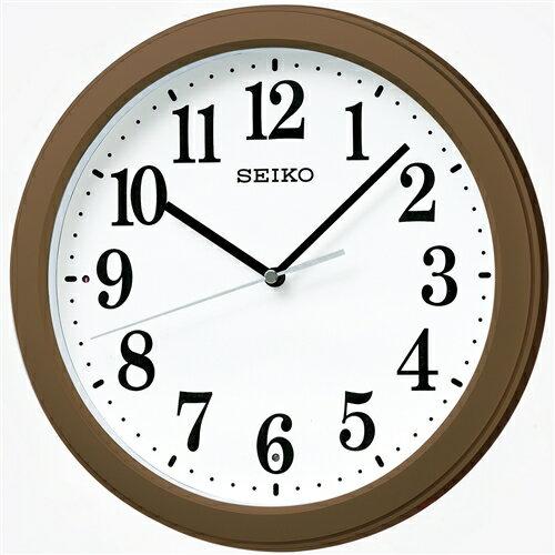 セイコー 電波掛時計KX379B茶メタリック