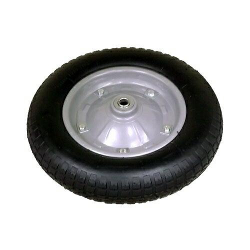 コーナンオリジナル 一輪車用ノーパンクタイヤ(黒) RC−T003−2