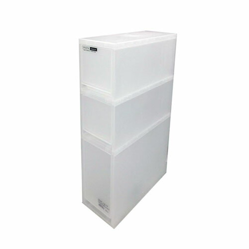 モア ナチュラル スリムD3段 KIT18−1176 衣装ケース 衣装ボックス 収納 収納ボックス 衣類収納 押入れ収納ボックス 収納家具 クローゼット プラスチック 収納用品 収納ケース 引き出し コンパクト コーナン
