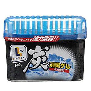 炭の消臭ゲル 冷凍庫用 140g 業務用 芳香剤 消臭剤 冷凍庫 コーナン