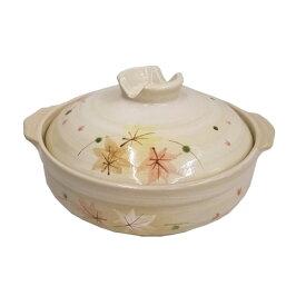 コーナン オリジナル 土鍋 もみじ 9号 KFY05−0350