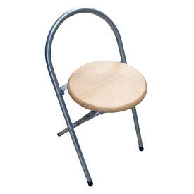 木目調FDチェアー WFC−032−NA パイプイス パイプ椅子 ミーティングチェア パイプチェア パイプ椅子 コーナン 折りたたみ コンパクト