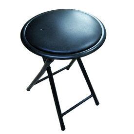 折りたたみスツール FS−003−BK パイプイス パイプ椅子 ミーティングチェア パイプチェア パイプ椅子 コーナン 折りたたみ コンパクト