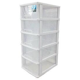 ストッキー SA−450 ホワイト タンス たんす 収納 収納用品 押入れ収納 衣類収納 衣装ケース キッチン収納 収納棚 リビング収納 家具 整理棚 おしゃれ 引き出し プラスチック