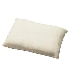 低反発チップ枕 約35×50cm アイボリー いびき イビキ 安眠枕 快眠グッズ 安眠 快眠 いびき防止グッズ 低反発 枕 肩こり ストレートネック まくら