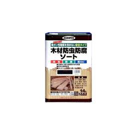≪あす楽対応≫アサヒペン 木材防虫防腐ソート ブラウン 14L