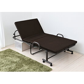 折り畳み低反発ベッド  KR18−0066 ベッド シングル 折りたたみベッド シングルベッド 低反発 簡易ベッド 低反発ベッド 低反発マットレス コンパクト ベット 折り畳みベッド 折り畳み リクライニングベッド コーナン