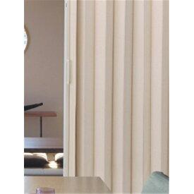 丈詰アコーデオンドア 約100×210cm ケイソウ アコーディオンカーテン 簡単取付 間仕切り 扉がわり 目隠し アコーディオンドア ブラインド 間仕切り カーテン パーテーション カジュアル TOSO トーソー