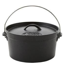 ロゴスコーポレーション ロゴス SLダッチオーブン 10インチ・ディープ(バッグ付き)