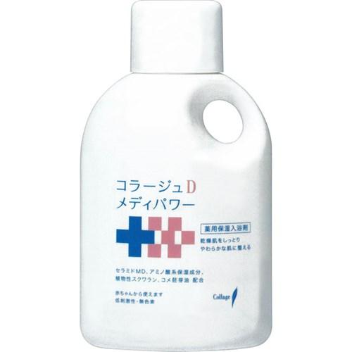 持田ヘルスケア コラージュDメディパワー保湿入浴剤 500mL【ラッキーシール対応】